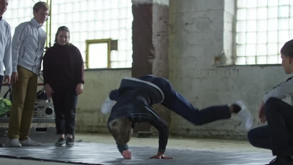 Thumbnail for Teenage Boy Dancing Freestyle