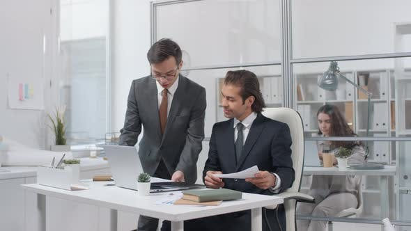 Thumbnail for Business People Working In Office