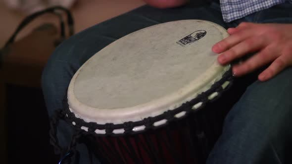 Thumbnail for Drummer Plays Drums at Musical Event, Live Sound Classics Rhythm