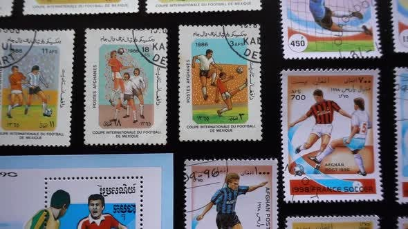 Soccer Stamps Collection