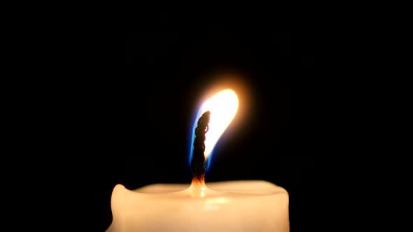 Thumbnail for Close-up of a Candle Flame