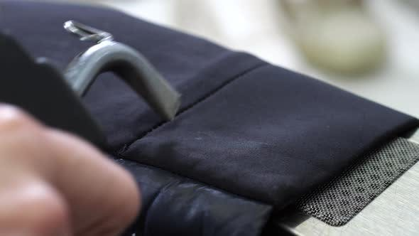 Thumbnail for Cleaning of Jacket Sleeve Using Sprayer and Dryer