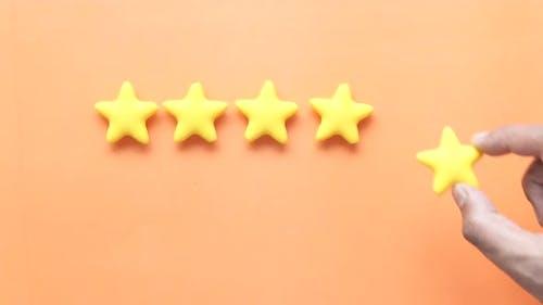 Konzept der Kundenbewertung