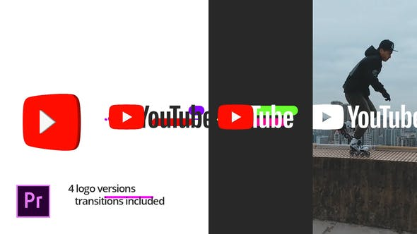 Thumbnail for Modern Youtube Logo | For Premiere Pro