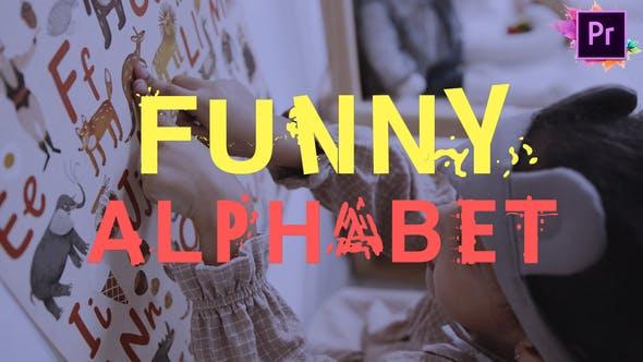 Thumbnail for Funny Alphabet | Premiere Pro MOGRT