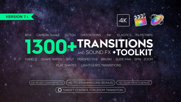 Cover Image for Transitions and Sound FX + Bonus