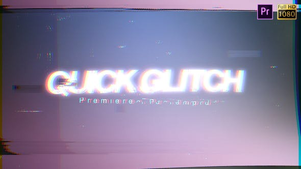 Thumbnail for Quick Glitch - Premiere Pro
