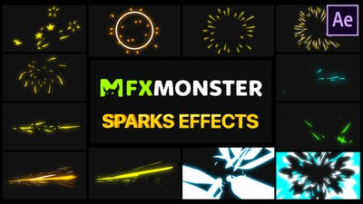 Sparks Effects | After Effects