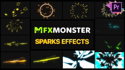 Sparks Effects   Premiere Pro MOGRT