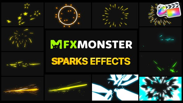 Thumbnail for Sparks Effects | FCPX