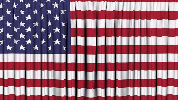 American Curtain Open