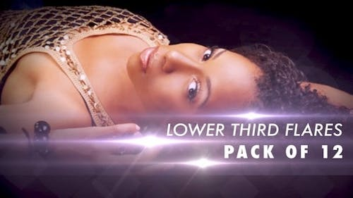 Lower 3rd Flares - Pack of 12