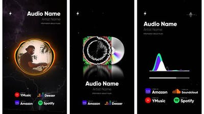 Audio Spectrum Visualization Pack