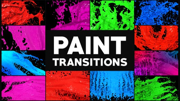 Thumbnail for Paint Transitions | After Effects