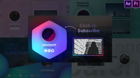 Youtube Trendy Endscreens