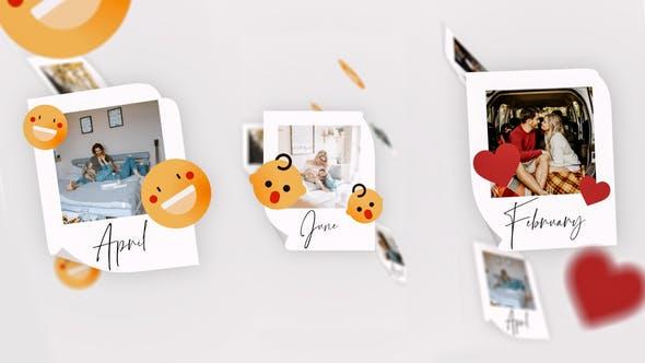 IGTV — Simple Memories Slideshow