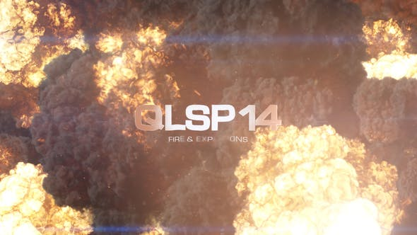 Quick Logo Sting Pack 14: Fire & Explosion