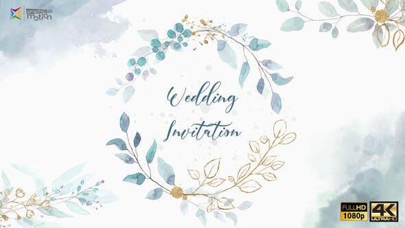 Wedding Invitation - product preview 0