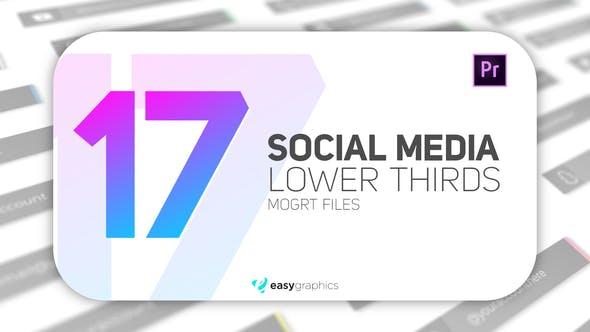 Thumbnail for Élégants médias sociaux tiers inférieurs