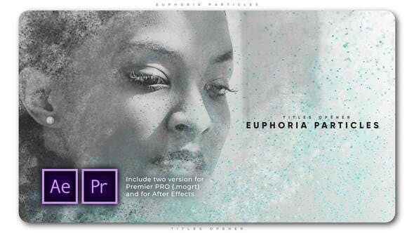 Thumbnail for Euphoria Particles Titles Opener