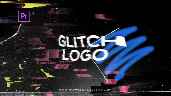 Thumbnail for Glitch Distortion Logo Intro