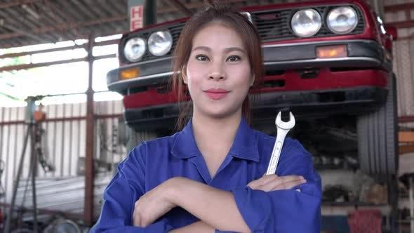 Techniker weiblich