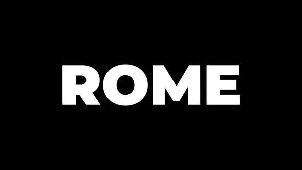 Thumbnail for ROME Titles