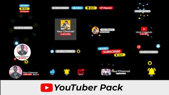 Thumbnail for Pack YouTuber