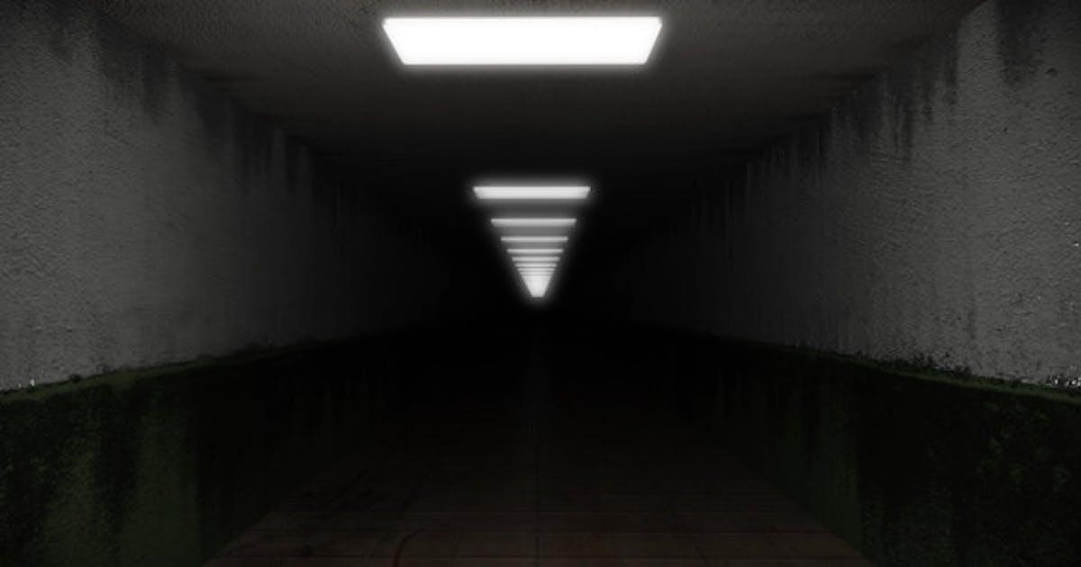 Dark and Creepy Horror Corridor