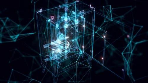 Hologramme d'allumage de la torche Close Up Hd