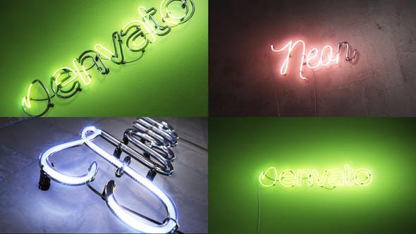 Logo Neon Flow