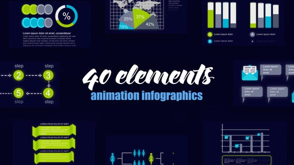 Thumbnail for Statistic Infographics Vol.44