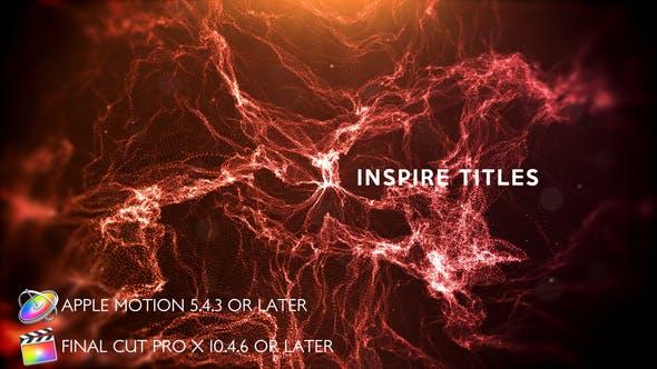 Thumbnail for Inspire Titles - Apple Motion