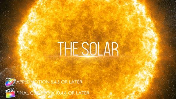Cover Image for The Solar - Bande Annonce Cinématographique - Apple Motion