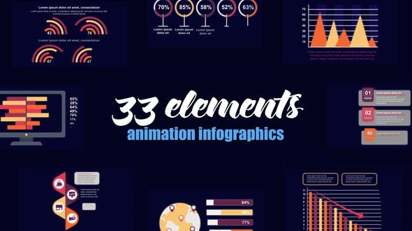 Thumbnail for Business Infographics Vol.48