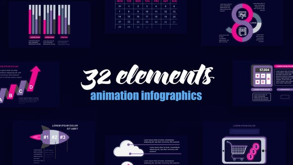 Thumbnail for Technology Infographics Vol.51