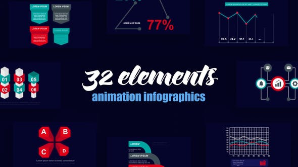 Thumbnail for Business Infographics Vol.52