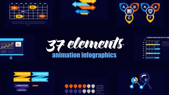 Thumbnail for Statistic Infographics Vol.55