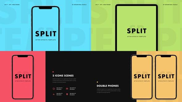 Thumbnail for Split - Appli Promo