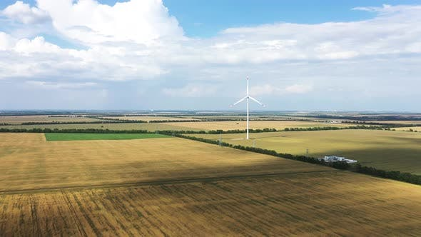 Thumbnail for Windmill Generate Electricity in a Fields Alternative Energy