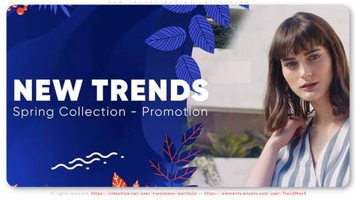 Neue Trends. Frühlings-Sammlung