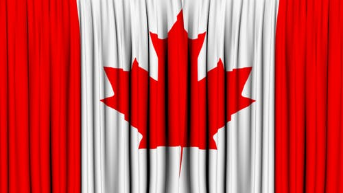 Canada Curtain Open