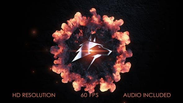 Thumbnail for Logo Stomp Explosion