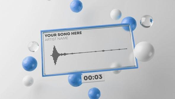 Fresh Audio React Music Visualizer 3D
