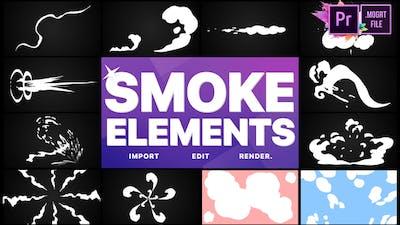 Smoke Elements Pack 05 | MOGRT