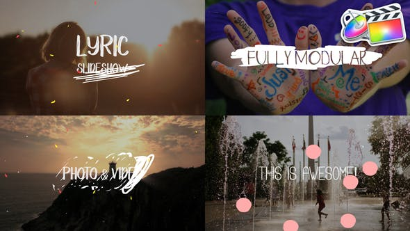 Thumbnail for Lyric Slideshow | FCPX