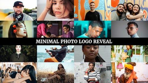 Minimal Photo Logo Reveal