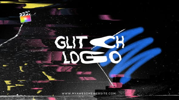 Thumbnail for Glitch Logo Distortion Intro