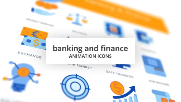 Banking & Finance - Animation Icons