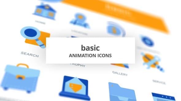 Thumbnail for Basic - Animation Icons